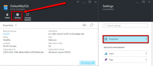 AzureRMmySQLSettings